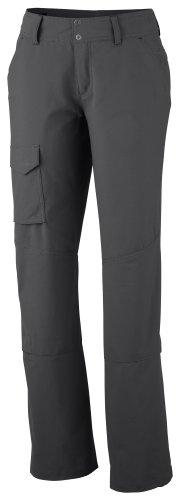 Columbia Silver Ridge, Pantalones de Senderismo para Mujer, Gris (Grill), 46 EU (14 UK)