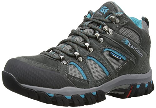 Karrimor Bodmin Mid IV Weathertite, Zapatos de High Rise Senderismo Mujer, Gris (Gbl), 36 EU