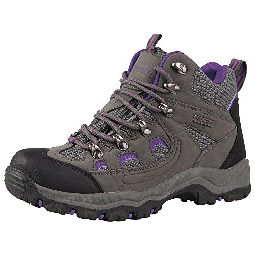 Mountain Warehouse Botas impermeables Adventurer para mujer Gris 39