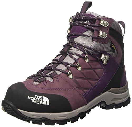 North Face W Verbera Hiker II GTX, Mujer Botas de senderismo, Morado / Gris, 36