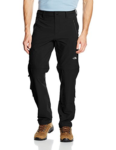 The North Face Exploration Pantalones deportivos, Hombre, Negro (Black), WNA (Tamaño del fabricante:REG34)