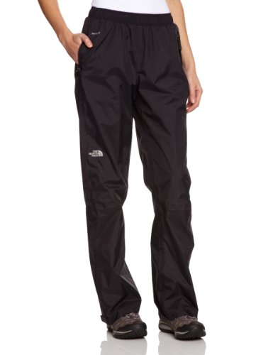 The North Face W Resolve Pant - Pantalón para mujer, color negro, talla L