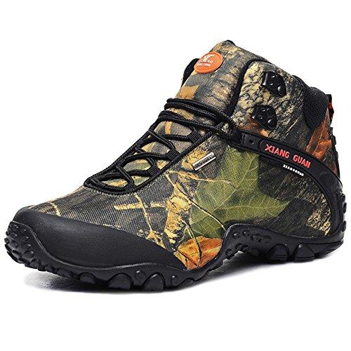 Zapatos de Deporte y Aire Libre, Botas Resistente al Agua de Invierno para Senderismo y Montaña para hombre 82289 42